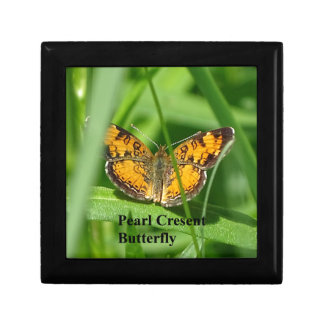 Pearl Crescent Butterfly Gift Box