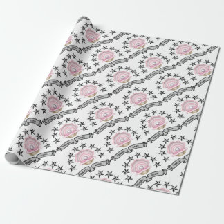 pearl girl yeah wrapping paper