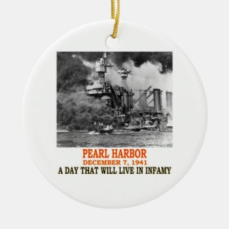 PEARL HARBOR CERAMIC ORNAMENT