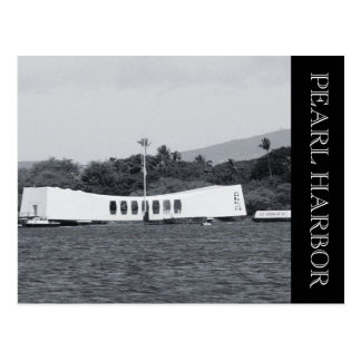 pearl harbor memorial postcard