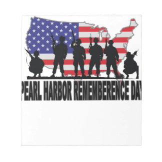 Pearl Harbor Remembrance Day M png Notepads