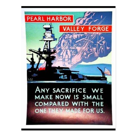 Pearl Harbour V All Ey For Ge Postcard