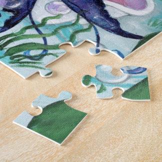 """Pearl"" mermaid fantasy art PUZZLE by ronne"