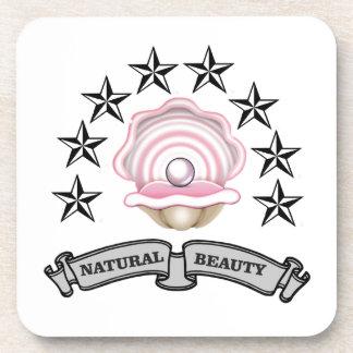 pearl natural beauty coaster