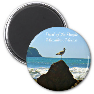 Pearl of the Pacific Mazatlan Mexico Bird Magnet