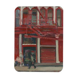 Pearl Paint shop Manhattan Rectangular Photo Magnet