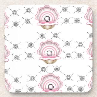 pearl perfect art coaster