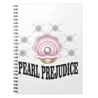 pearl prejudice notebook