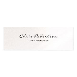 Pearl Slim Modern Trendy Charming Business Card