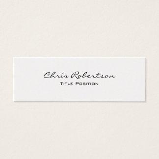 Pearl Slim Modern Trendy Charming Business Card