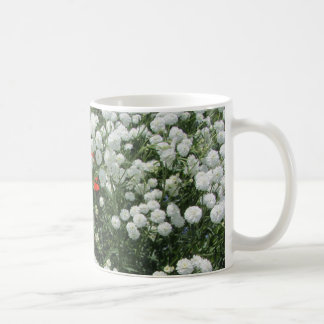 Pearl Yarrow Maltese Cross Coffee Mug