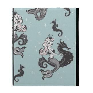 Pearla Mermaid Ipad Folio Case by Fluff