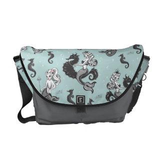 Pearla Mermaid Messenger Bag by Fluff