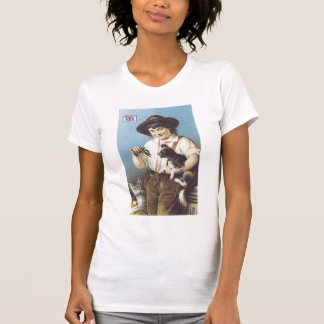 Pearline Boy with Pets T-shirt