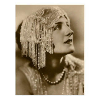 Pearls and Fashion Postcard