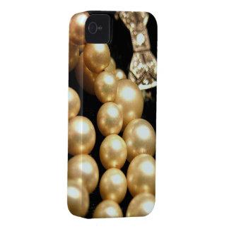 Pearls & Diamonds iPhone4 Casemate iPhone 4 Case-Mate Case