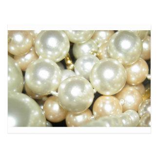 Pearls Postcard