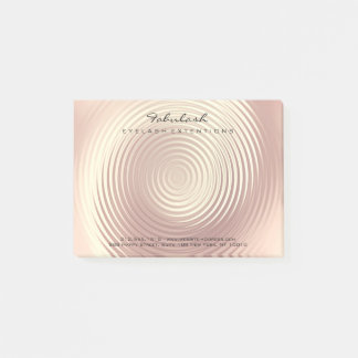 Pearly Blush Name Web Telephone Number Post-it Notes