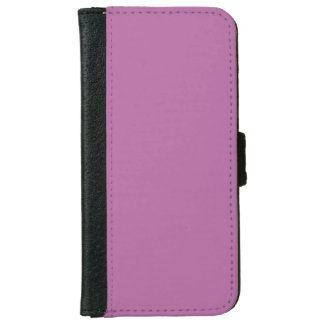 Pearly Purple Top Color Coordinated iPhone 6 Wallet Case
