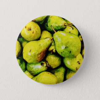 Pears 6 Cm Round Badge