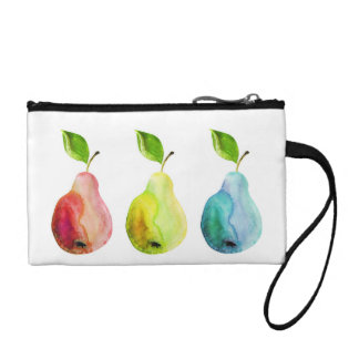 Pears and Colors Coin Purses