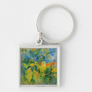 Pears by Berthe Morisot Keychain