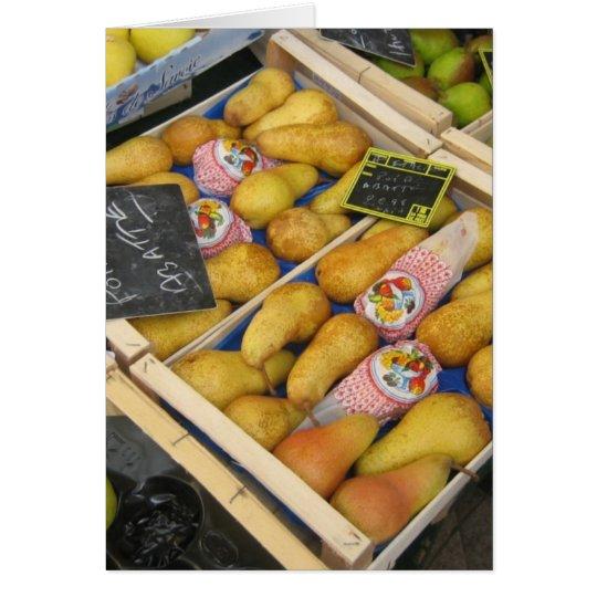 pears card