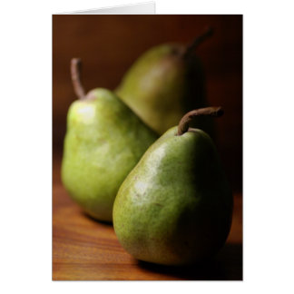 Pears Cards