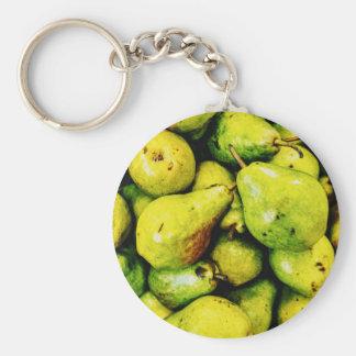 Pears Key Ring