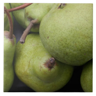Pears Large Ceramic Photo Tile