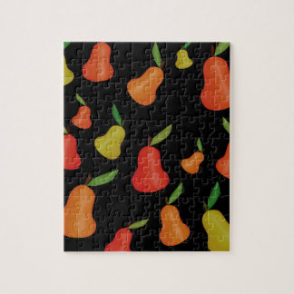 Pears pattern jigsaw puzzle