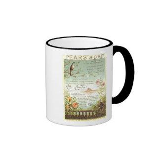 Pears Soap Nature Ad Ringer Coffee Mug