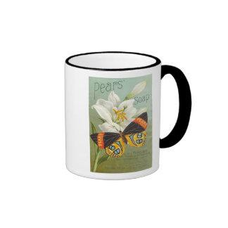 Pears Sopa Butterfly Coffee Mug