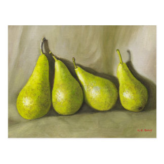 Pears. Still-life Postcard