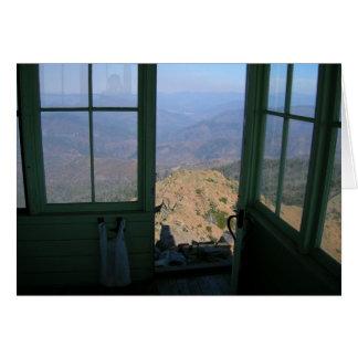 Pearsoll Peak Fire Lookout Card