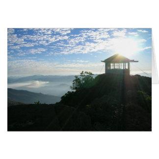 Pearsoll Peak FIre Lookout Oregon Card