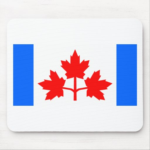 Pearson Pennant (Canadian Flag Proposal) Mouse Pads