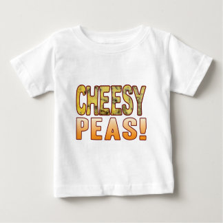 Peas Blue Cheesy Baby T-Shirt