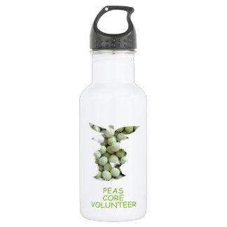Peas core volunteer 532 ml water bottle