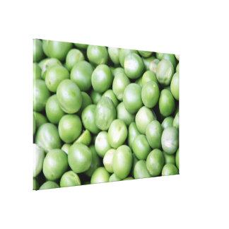 Peas in a pile canvas print