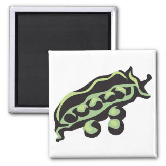 peas in a pod refrigerator magnet