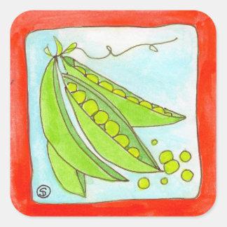 peas in a pod sticker