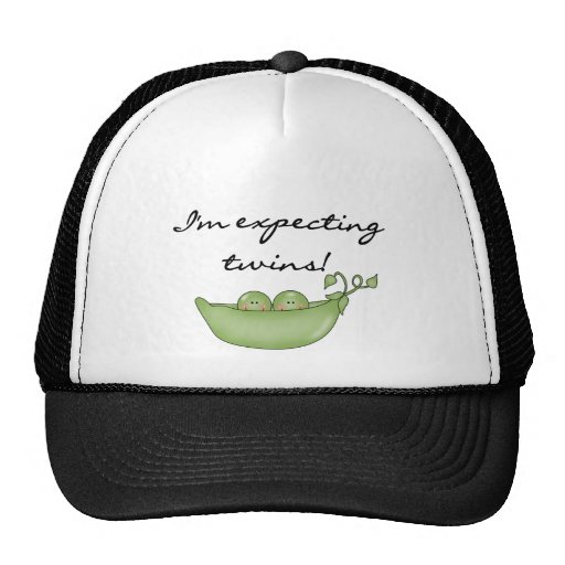 Peas in Pod Expecting Twins Mesh Hat