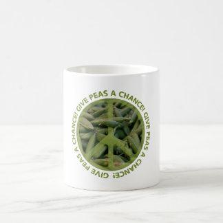 PEAS mug - choose style & color