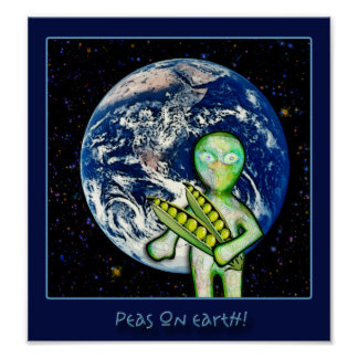 Peas On Earth! Poster