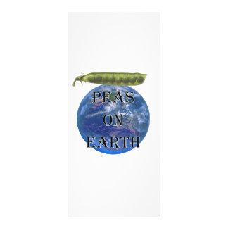 Peas on Earth Custom Rack Card