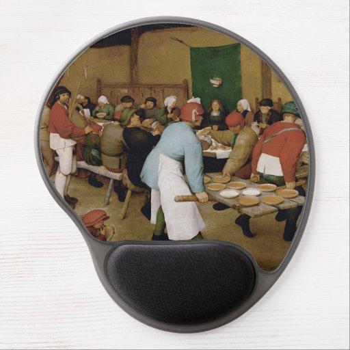 Peasant Wedding by Pieter Bruegel the Elder Gel Mouse Mat