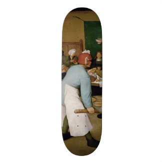 Peasant Wedding by Pieter Bruegel the Elder Skate Board Decks