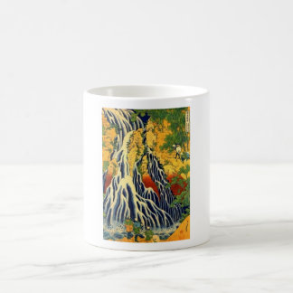 Peasants and Waterfall Coffee Mug