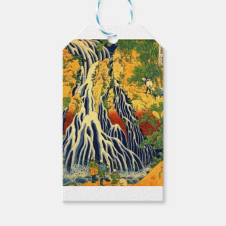Peasants and Waterfall Gift Tags